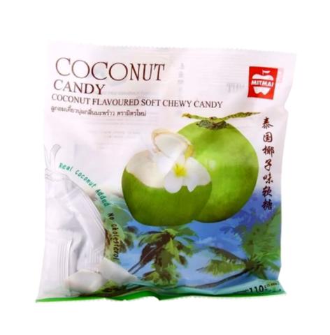 Жевательные тайские конфеты MITMAI со вкусом кокоса (MitMai Coconut soft)