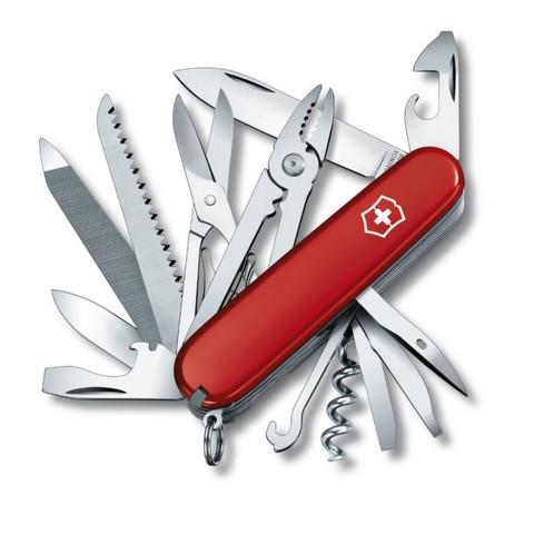 Нож складной Офицерский Victorinox 1.3773 Handyman, красный