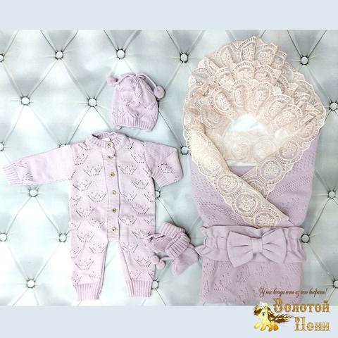 Комплект новорожденному 6 предм ЛЕТО (0-6) 210604-NV11099