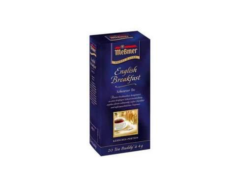 Чай черный в пакетиках Messmer Английский завтрак, 20 пак/уп, 4 г