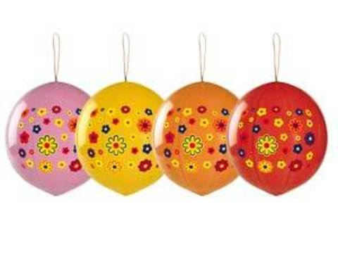 Панч-болл с рисунком Цветы многоцв