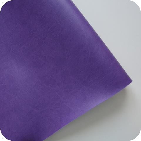 Кожзам переплетный матовый, фиолетовый