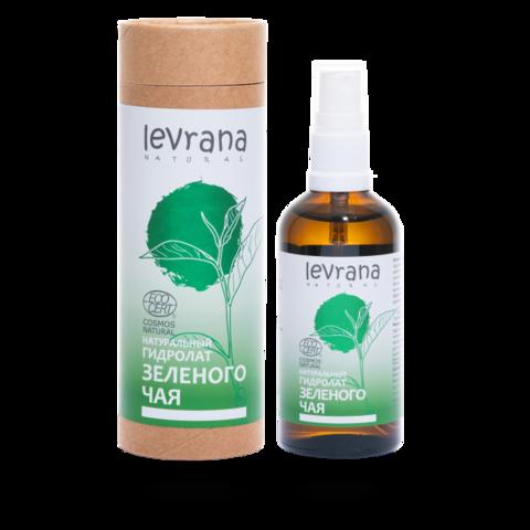 Levrana Натуральный гидролат Зеленого чая ECOCERT