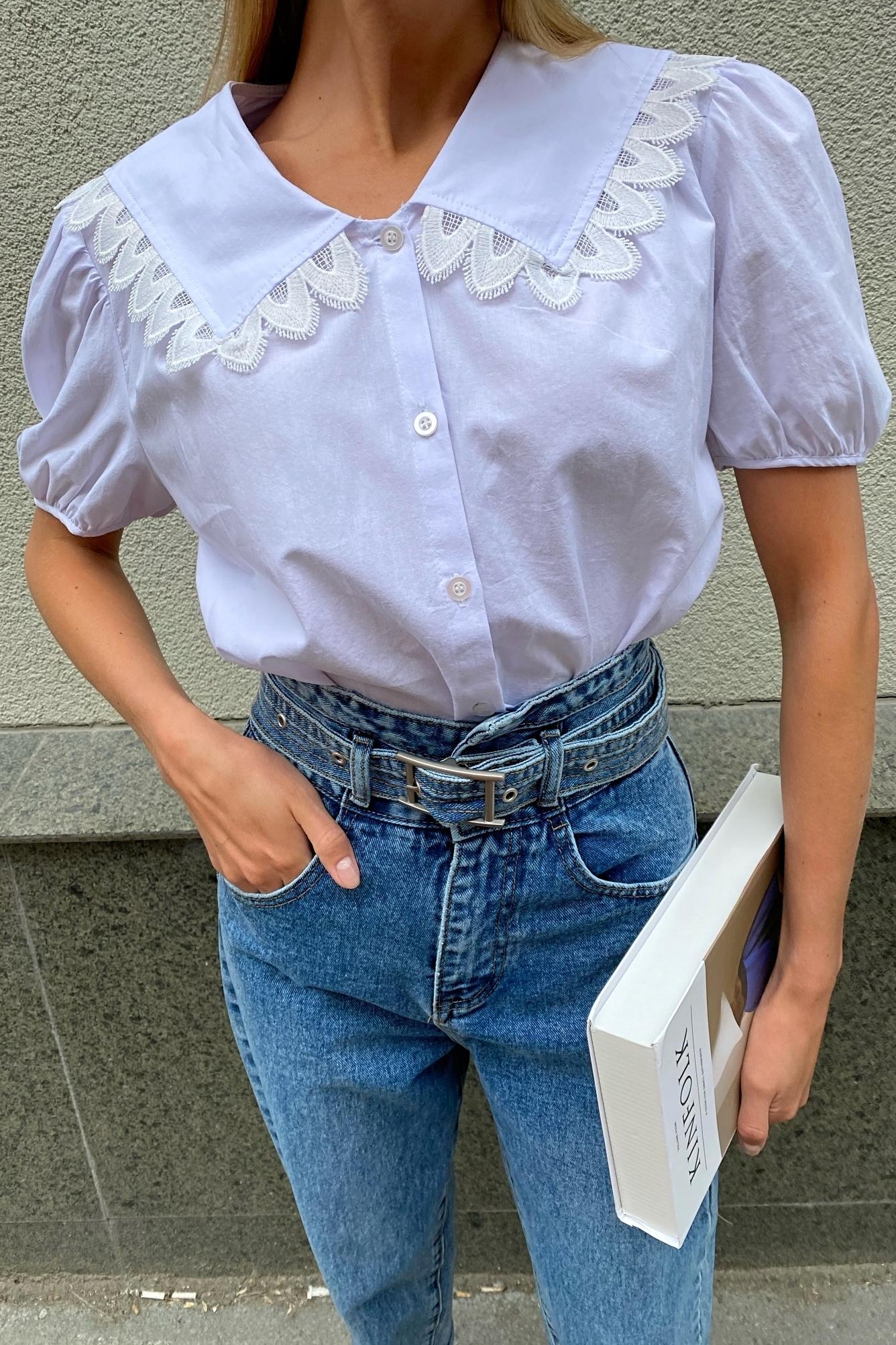 Блуза с воротом