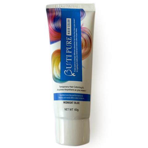 Тонирующий бальзам для волос Bu:ti Pure Hair Color Midnight Blue полуночный синий 60 гр