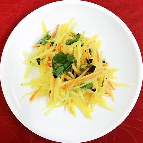 38-54Салат  холодный картофель凉拌土豆丝