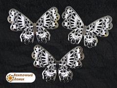 Филигрань Бабочка серебряная № 2