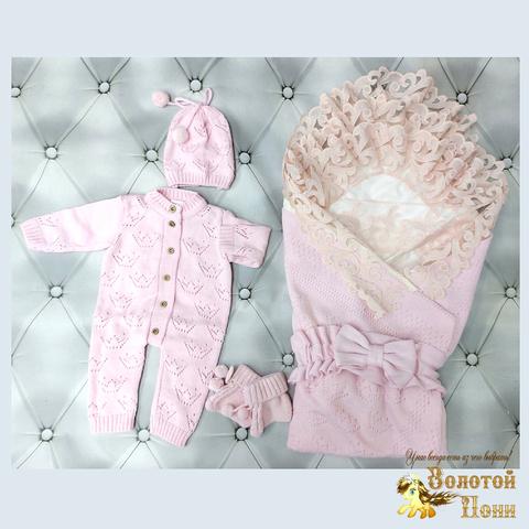 Комплект новорожденному 6 предм ЛЕТО (0-6) 210604-NV11100