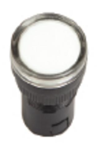 Лампа AD-22DS(LED)матрица d22мм белый 24В AC/DC TDM
