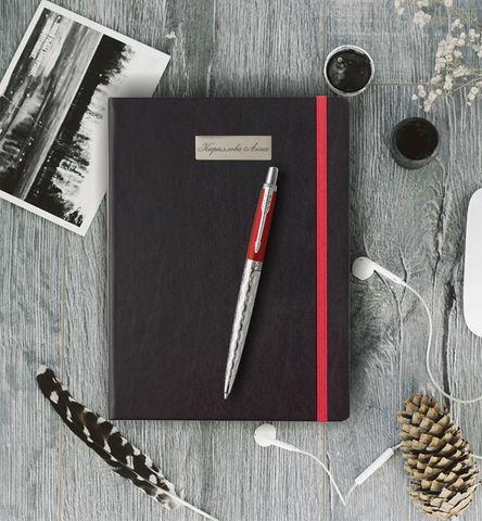Набор с гравировкой: Блокнот в подарочной упаковке и Шариковая ручка Parker Jotter 2017 SE, London Architecture Classical