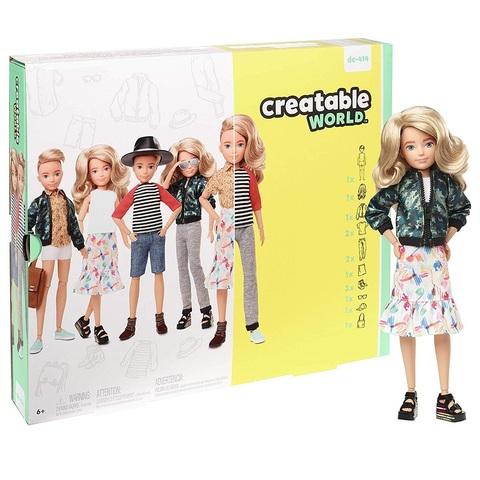 Creatable World Кукла со Светлыми Волнистыми Волосами