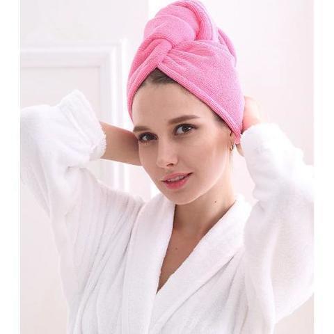 Повязка полотенце для сушки волос купить выгодно