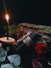 Восковая свеча «15 минут»