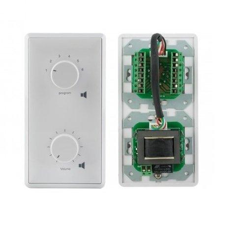 Селектор программ с регулятором громкости AT-206
