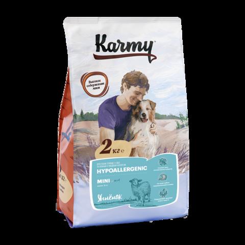 Karmy Hypoallergenic Mini Сухой корм для собак мелких пород склонных к аллергии с ягненком
