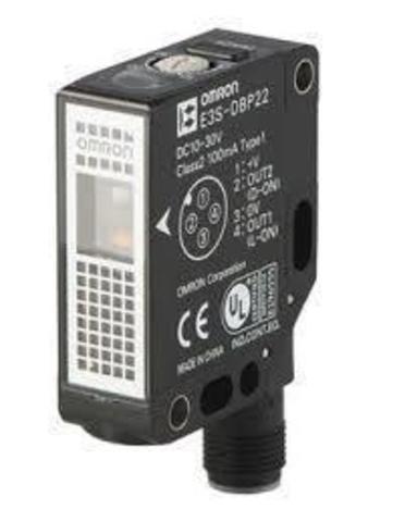 Прямоугольный датчик Omron E3S-DBN12 2M