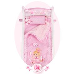 Кроватка-качалка для куклы серии