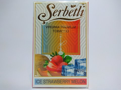 Табак SERBETLI Ice Strawberry Melon 50gr