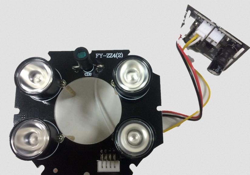 ИК прожектор LEDS блок видеокамеры CAICO TECH