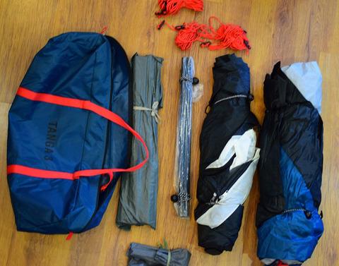 Палатка Canadian Camper TANGA 3, цвет royal, комплектность.