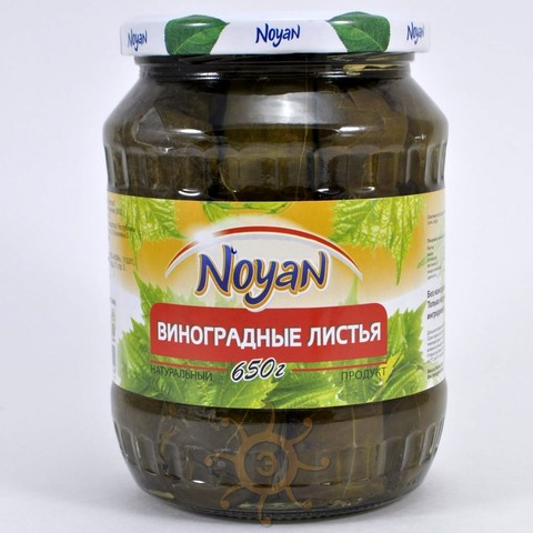 Листья виноградные Noyan, 650г