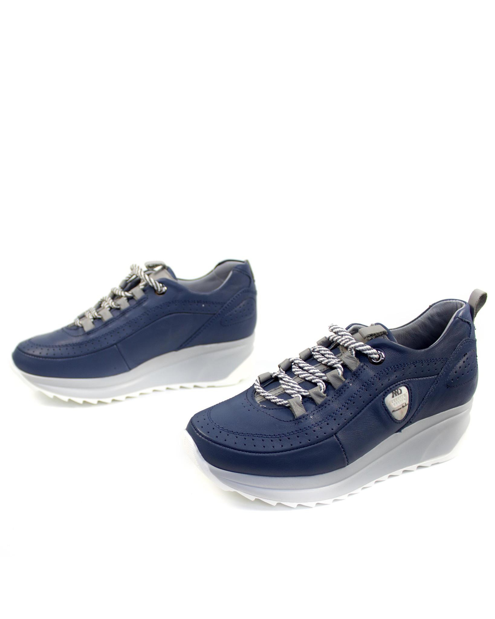 синие кроссовки Mumin