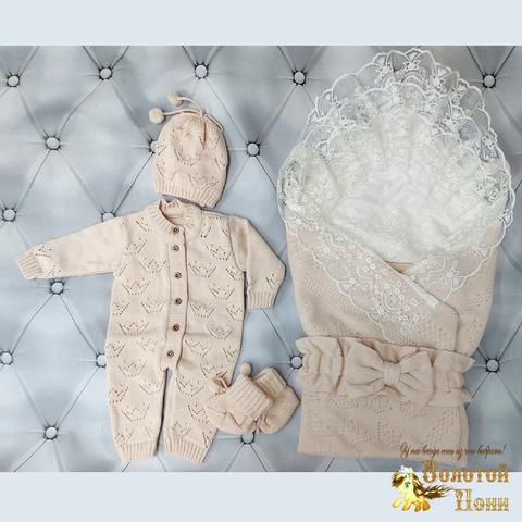 Комплект новорожденному 6 предм ЛЕТО (0-6) 210604-NV11101