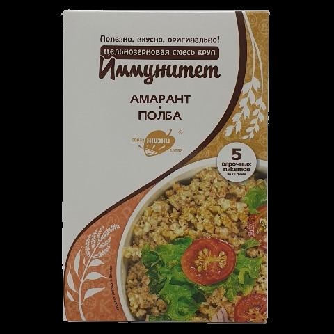 Смесь круп цельнозерновая Иммунитет ОБРАЗ ЖИЗНИ, 350 гр