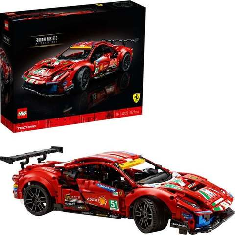 Lego Technic Ferrari 488 GTE AF Corse