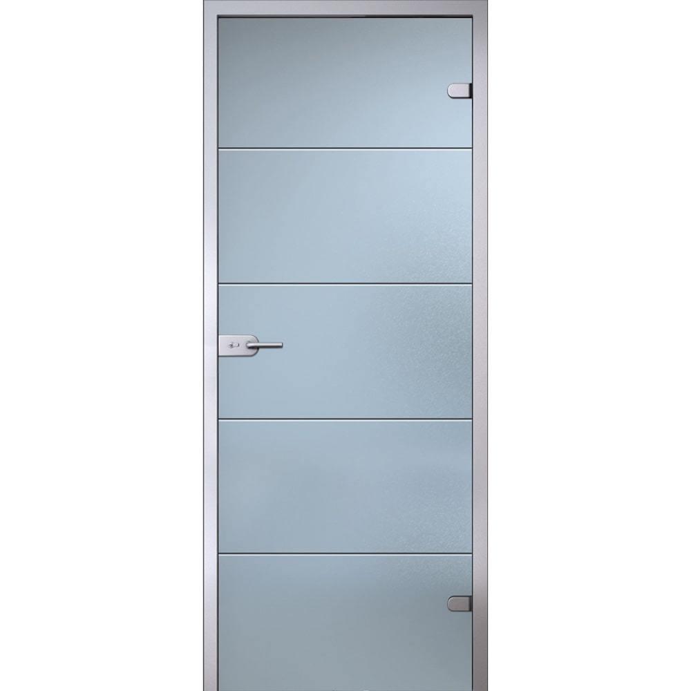Популярное Межкомнатная стеклянная дверь АКМА Диана беcцветное матовое стекло Dver-ST-Diana-Satinato-Dvertsov-min.jpg