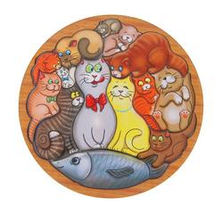 головоломка коты smile-decor