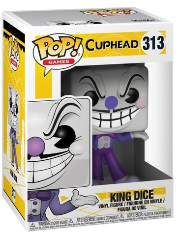 Фигурка Funko POP! Vinyl: Games: Cuphead: King Dice 26968