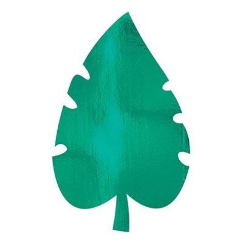 Баннеры фольга Пальмовый лист, 40 см