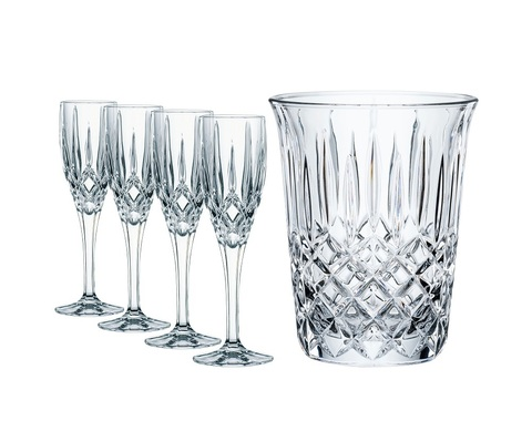 Набор 5 предметов  для шампанского артикул 102386. Серия Noblesse