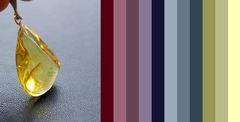 примерная палитра подходящих цветов одежды