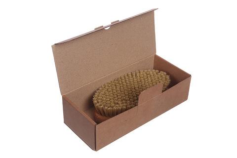 YOZHIK Щётка для сухого массажа (класс XL компакт, натуральная щетина)_коробка