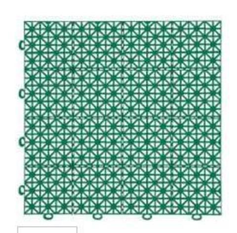 Покрытие модульное 30х30см темно-зеленое 999135 (11шт)