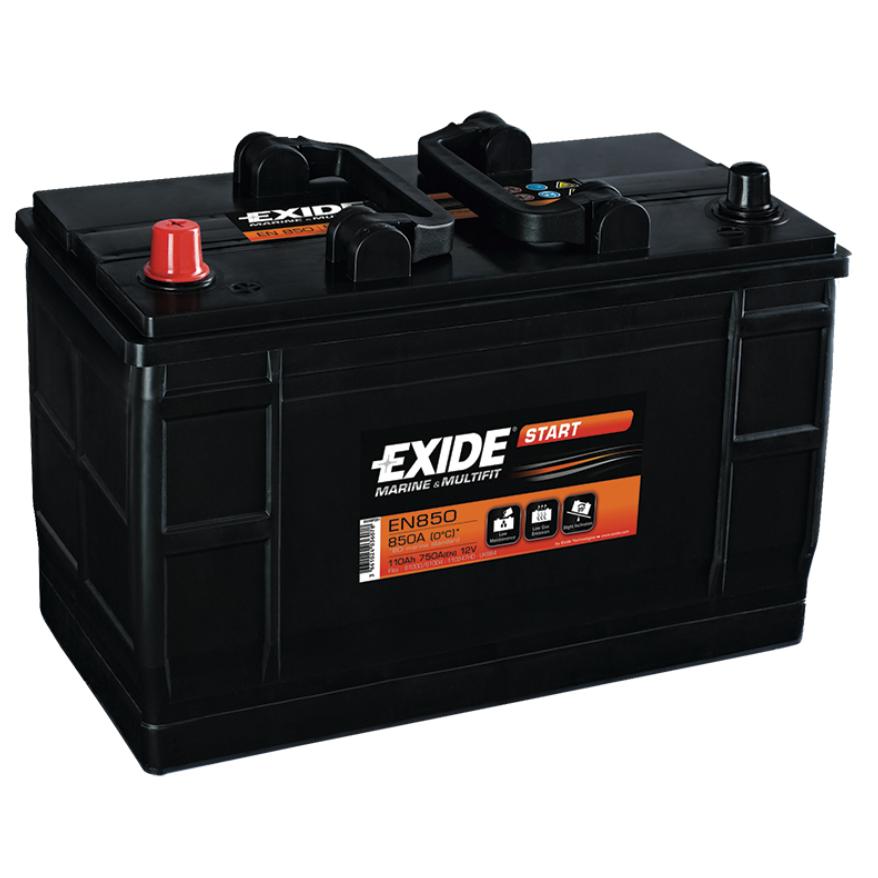 Battery Exide, Marine Type, 12V, 110 Ah, 349x175x235mm