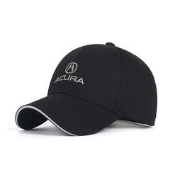 Модная бейсболка с вышивкой Акура (Кепка Acura) черная