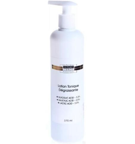 Обезжиривающий лосьон-тоник для подготовки кожи к химическому пилингу / Lotion tonique degraissante Kosmoteros, 400 мл