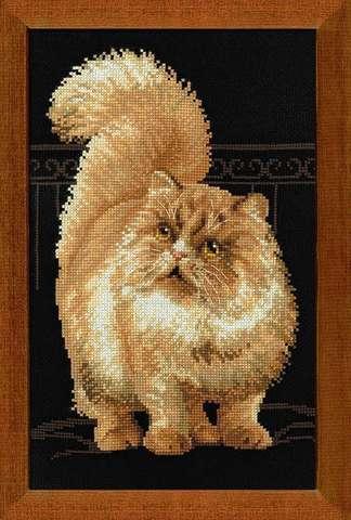 Набор для вышивания крестом «Персидский кот» (1152)