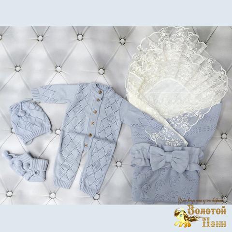 Комплект новорожденному 6 предм ЛЕТО (0-6) 210604-NV11102