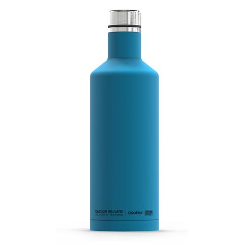 Термобутылка Asobu Times square (0,45 литра), голубая