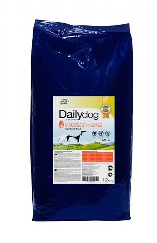 Сухой корм DailyDog Adult Small Breed для взрослых собак мелких и миниатюрных пород с индейкой и рисом 12 кг