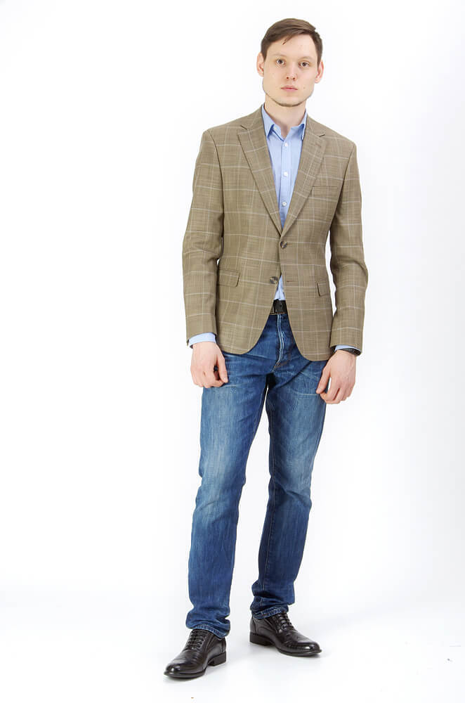 Пиджаки Slim fit CESARE MARIANO / Пиджак Slim Fit IMGP9413.jpg