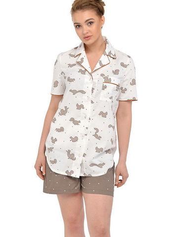 Пижама Candy Nut от Мамин Дом арт.24139 в принт