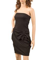 1817-2 платье женское, коричневое