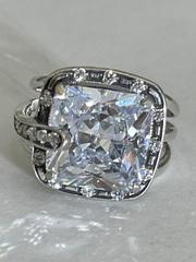 Леди (кольцо из серебра)
