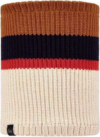 Вязаный шарф-труба с флисом детский Buff Neckwarmer Knitted Polar Carl Cru фото 1