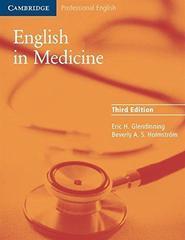 English in Medicine (Third Edition) Book